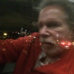 Jeffrey Dobkin on Train